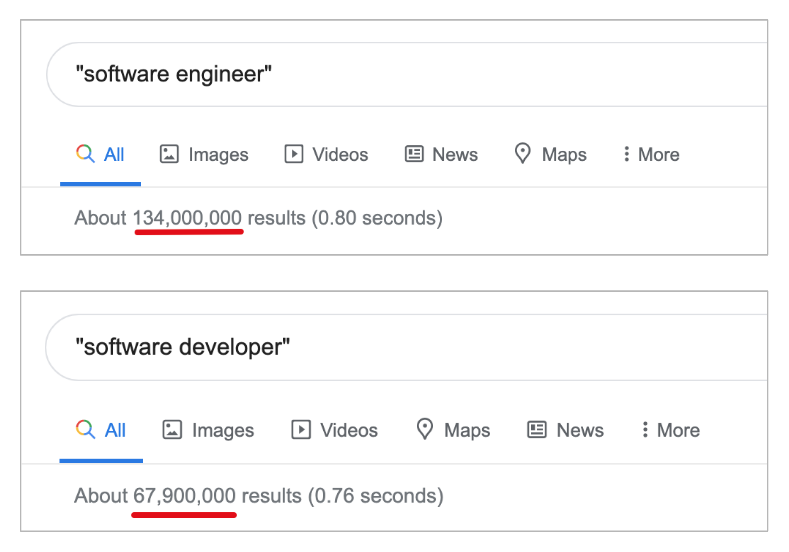 google-search-engineer-vs-developer